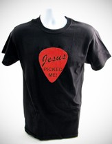 Jesus Picked Me Shirt, Black, X-Large