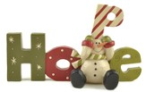 Hope, Snowman Figurine