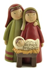 Jesus Is the Reason For the Season, Holy Family Figure
