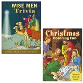 Christmas Coloring Fun and Wise Men Trivia