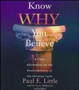 Know Why You Believe - unabridged audiobook on CD