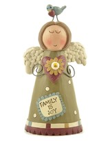 Family is Joy Angel Figurine