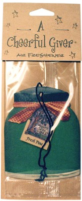 Pine & Holly Air Freshener