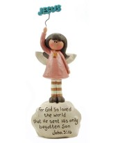 John 3:16 Angel Figurine