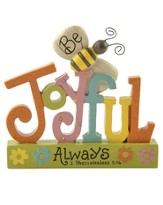 Be Joyful Always Figurine