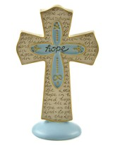 Hope in the Lord Cross Figurine