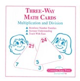 3 Way Math Cards - Multiplication & Division