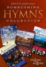 Bill & Gloria Gaither Present Homecoming Hymns  Collection-4 DVD Set