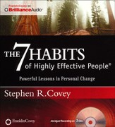 7 Habits of Highly Effective People: Powerful Lessons in Personal Change Abridged Audiobook on CD