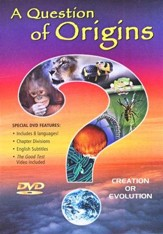A Question of Origins, DVD
