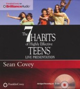 The 7 Habits of Highly Effective Teen Abridged  Audiobook on CD