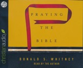 Praying the Bible - unabridged audio book on CD