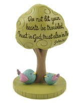 Trust in God, John 14:1 Figurine
