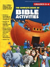 The Complete Book of Bible Activities, Grades 2-4