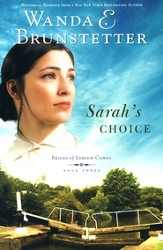 Sarah's Choice, Brides of Lehigh Canal Series #3