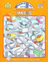 Puzzle Play Mazes Workbook and CD-ROM