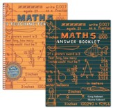 Teaching Textbooks Math 5 Workbook and Answer Key