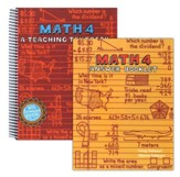 Math 4: Teaching Textbooks, Extra Workbook and Answer Key