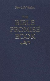 The NLV Bible Promise Book--imitation leather, blue