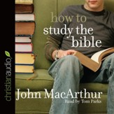 How to Study the Bible - unabridged audio book on CD