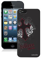 Cross iPhone 5 Case, Black