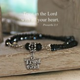 Trust God With All Your Heart Bracelet