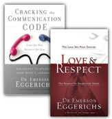 Love & Respect/Cracking the Communication Code, 2  Volumes with DVD