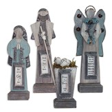Nativity Set  Wood / Metal 4 pieces