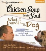 Chicken Soup for the Soul: What I Learned from the Dog: 34 Stories about Overcoming Adversity, Healing, and How to Say Goodbye Unabridged Audiobook on CD