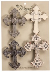 Cross Magnets, Set of 4
