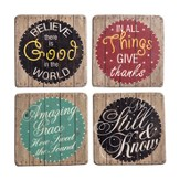 Inspire Me Coaster Set, Set of 4