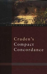 Cruden's Compact Concordance - Slightly Imperfect
