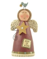God is Near Angel Figurine