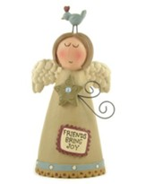 Friends Bring Joy Angel Figurine
