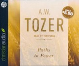 Paths to Power: Living in the Spirit's Fullness - unabridged audio book on CD