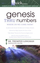 Genesis Thru Numbers: Where Do We Come From?