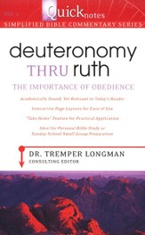 Deuteronomy Thru Ruth: The Importance of Obedience