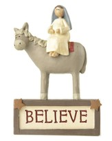 Mary Believe, Block Figurine