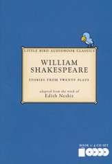 William Shakespeare: Stories from Twenty Plays Book & 4 Audio CDs