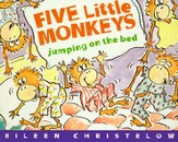 Five Little Monkeys Jumping on the Bed (boardbook)