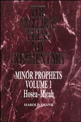 Minor Prophets, Volume 1: Hosea-Micah (The College Press NIV Commentary) - Slightly Imperfect