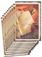 Prayer Journal - pamphlet - pack of 10