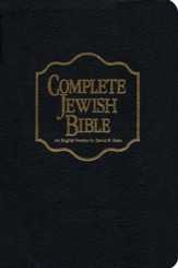 The Complete Jewish Bible, Bonded Leather Black