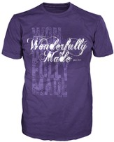 Wonderfully Made II Shirt, Purple, Extra Large