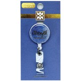 Strength, Philippians 4:13 Badge Reel, Royal Blue