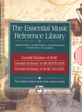The Essential Music Reference Library (3 Books)