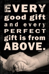 Every Good Gift Is From Above Mounted Print