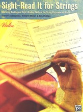 Sight-Read It for Strings: Improving Reading and Sight-Reading Skills in the String Classroom or Studio