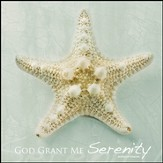 God Grant Me Serenity Mounted Print