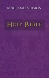 The KJV Holy Bible, Mass Market Edition  - Slightly Imperfect